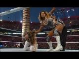Kelly Kelly &amp Maria Menounos vs Eve Torres &amp Beth Phoenix - WWE WrestleMania XXVIII